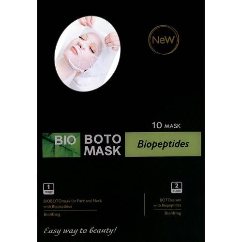 Maska z biopeptydami-płat kolagenowy: twarz, podbródek, szyja, część...